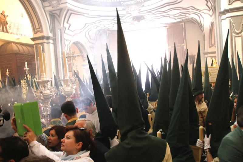 capirotes semana Santa Málaga