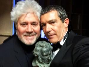Goya de Honor Antonio Banderas Pedro Almodovar