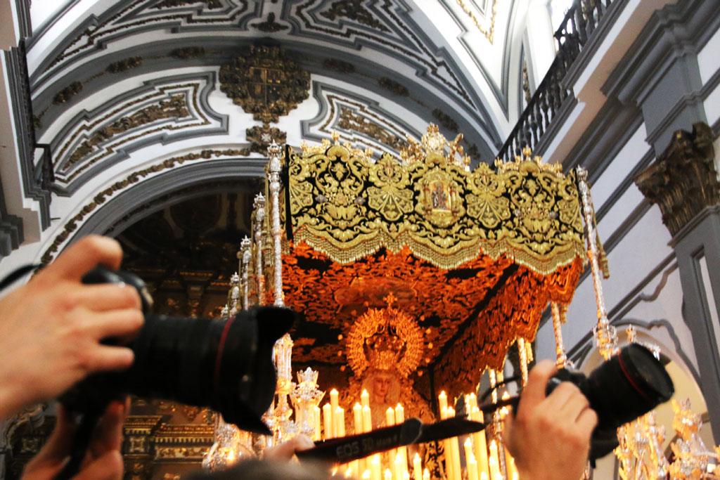 Semana santa Málaga Lágrimas  y Favores Antonio Banderas